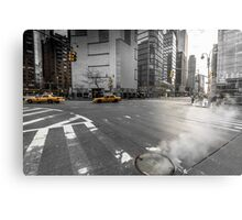 New York Streets Metal Print