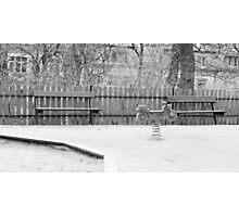 Empty Playground Photographic Print