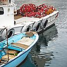 Fishing Boats by Glennis  Siverson