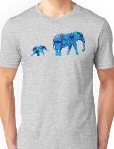 Inkblot Elephants Unisex T-Shirt