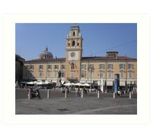 PARMA ...PIAZZA GARIBALDI...ITALIA...EUROPA...1000 VISUALIZZAZ MAGGIO 2013 - VETRINA RB EXPLORE MAGGIO 2013 Art Print