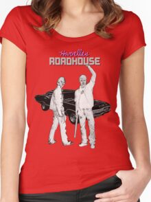 Supernatural Season 1 Roadhouse Women's Fitted Scoop T-Shirt