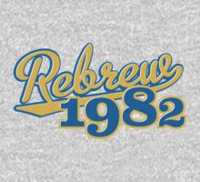 Rebrew 1982 blue One Piece - Long Sleeve