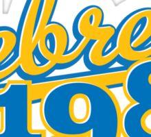 Rebrew 1982 blue Sticker