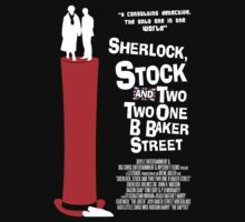Sherlock, Stock and 221B Baker Street by Blayde