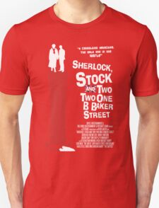 Sherlock, Stock and 221B Baker Street T-Shirt