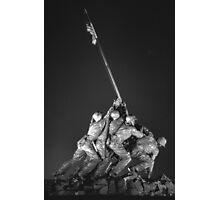 Iwo Jima 9 BW Photographic Print