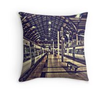 Liverpool Station Throw Pillow