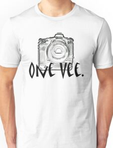 One Vee Unisex T-Shirt