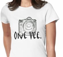 One Vee Womens Fitted T-Shirt