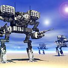 Mech Trinary by Curtiss Shaffer
