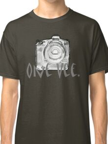 One Vee Black T Classic T-Shirt