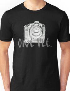 One Vee Black T Unisex T-Shirt