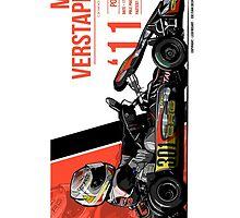 Max Verstappen - 2011 Portimao by Evan DeCiren