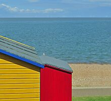 Red hut, yellow hut. by blindluck