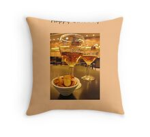 Birthday Drink Throw Pillow