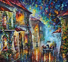 Surreal city - Leonid Afremov by Leonid  Afremov