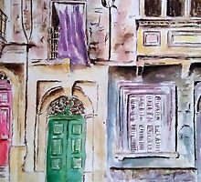 Maltese Facade by Patsy Smiles