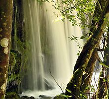 Waterfall, Brecon National Park Wales 2 by LisaRoberts