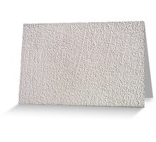 White grained wall surface texture  Greeting Card