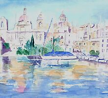 Maltese Harbour by Patsy Smiles
