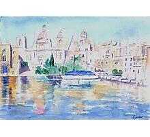 Maltese Harbour Photographic Print