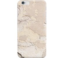 Old cracked paint texture broken wall  iPhone Case/Skin