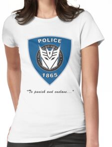 Transformers - Police Womens Fitted T-Shirt