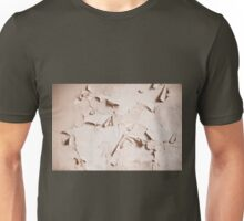 old cracked paint wall texture  Unisex T-Shirt