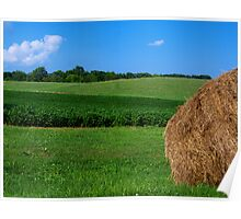 Bale of Hay Poster