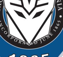 Transformers - Police Logo - Medium Size Logo Sticker