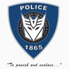 Transformers - Police Logo - Medium Size Logo by Jason Fitzsimmons
