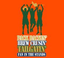 PackBackinBrewCrusin3 Kids Tee