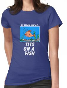 As Much Use as TFish Womens Fitted T-Shirt