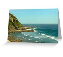 Bar Beach Seaview, NSW Greeting Card