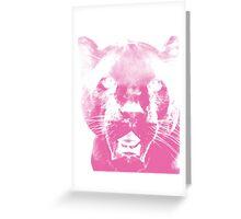 Pink Panther Greeting Card