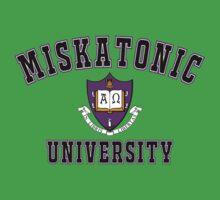 Miskatonic University Color Logo One Piece - Short Sleeve