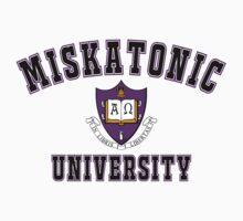 Miskatonic University Color Logo by christian-milik