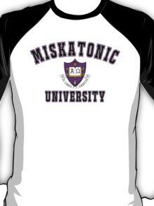 Miskatonic University Color Logo T-Shirt