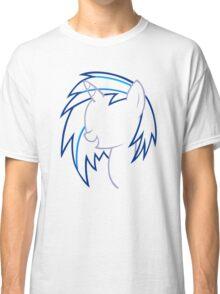 DJ VinylScratch Outline Classic T-Shirt