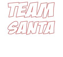 TEAM SANTA Photographic Print
