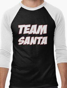 TEAM SANTA Men's Baseball ¾ T-Shirt