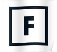 "Alphabet ""F"" Poster"