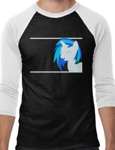 VinylScratch sillhouette Men's Baseball ¾ T-Shirt
