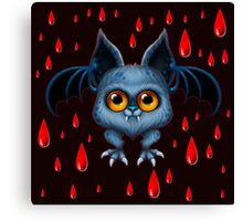 Halloween Bat Canvas Print