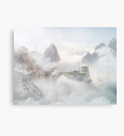 Palace of the Sky Dragons Metal Print