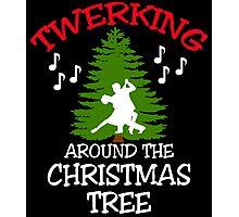 TWERKING AROUND THE CHRISTMAS TREE Photographic Print