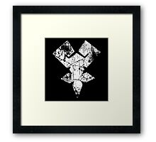 Kingdom Hearts Keyblade Master grunge Framed Print