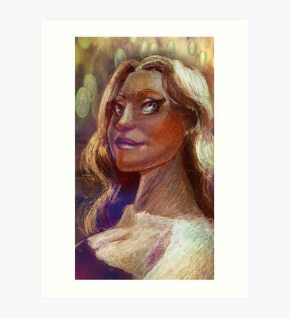 Caricature Art Print