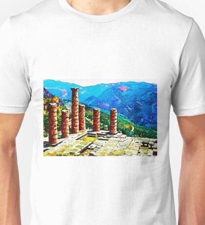 Delphi Temple Unisex T-Shirt